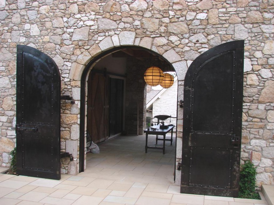 Edwards Winery Doors & napa valley winery doors Archives | Old World Stone Carving